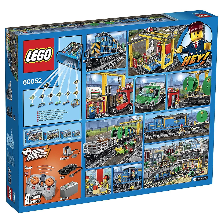 Train 60052 De Marchandises Lego Construction City Le Jeu rdCxBEQoeW