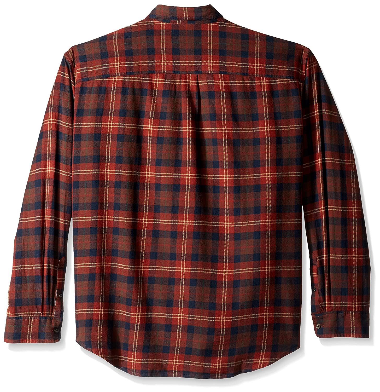 G.H Bass /& Co Mens Big and Tall Fireside Flannels Long Sleeve Button Down Shirt