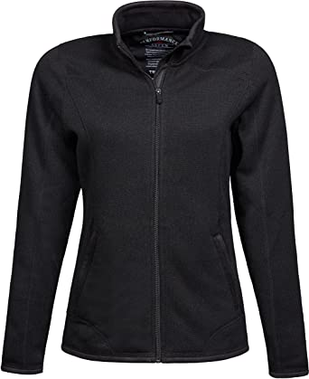 Sportbekleidung Tee Jays Damen Damen Strick Fleece Jacke