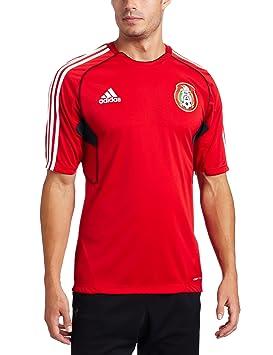 Adidas Formación de México fútbol Jersey, Hombre, Rojo