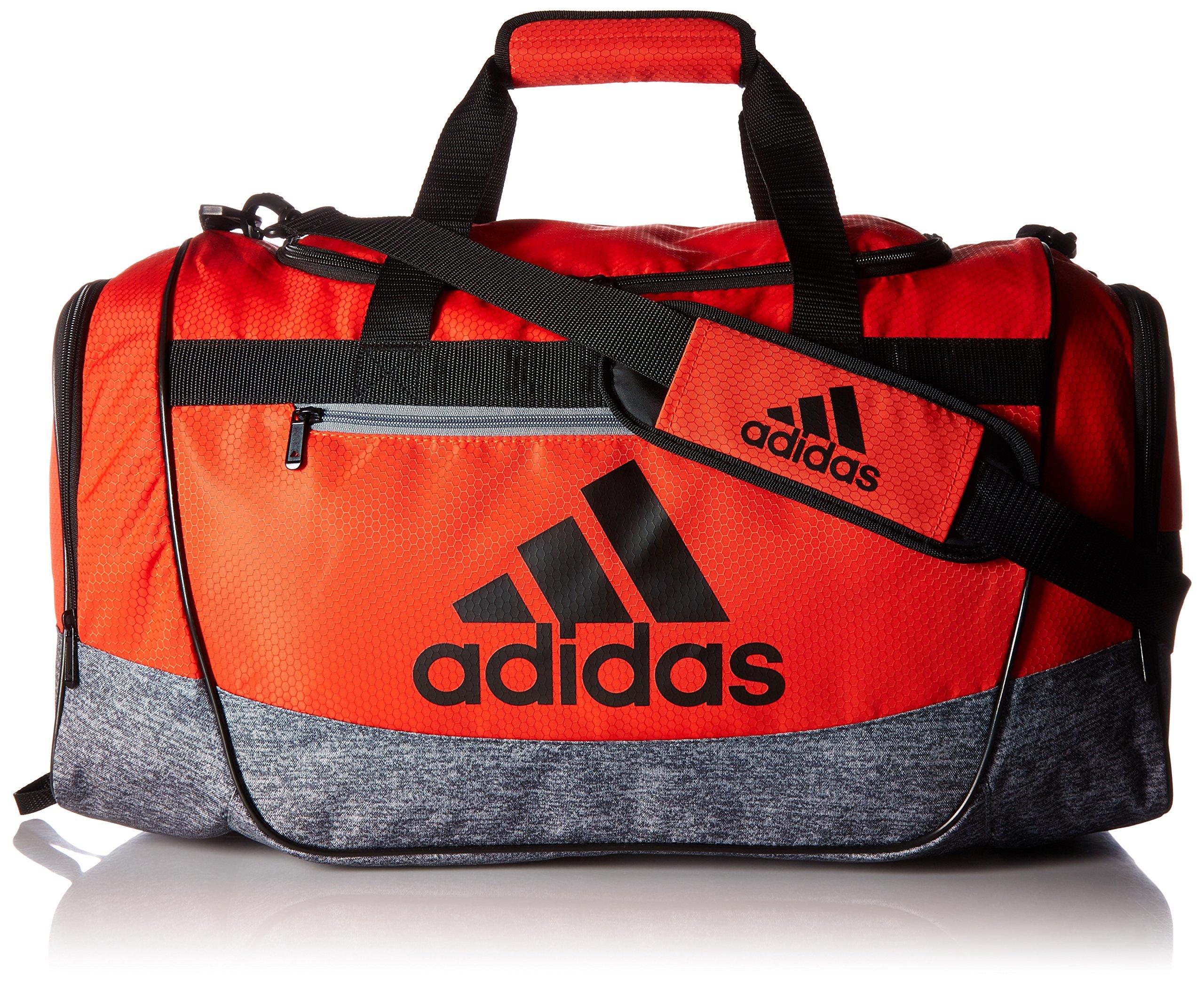 adidas Women's Defender III small duffel Bag, Grey, One Size