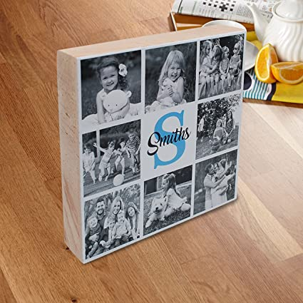amazon com personalized family photo collage gift custom picture