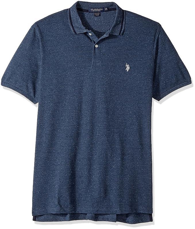 U.S. Polo Assn. Hombres Manga Corta Camisa Polo: Amazon.es: Ropa y ...