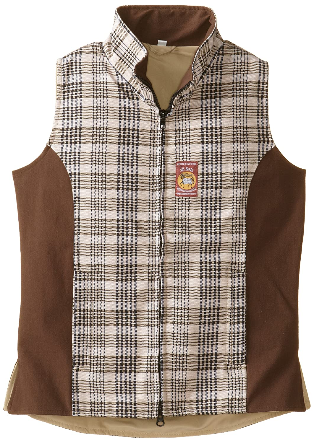 Chocolate Medium Chocolate Medium Baker by Equine Couture Women's Select Vest