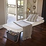 Zinus Sleep Master Traveler Deluxe Folding Memory Foam Guest Bed, Plus Bonus Storage Bag