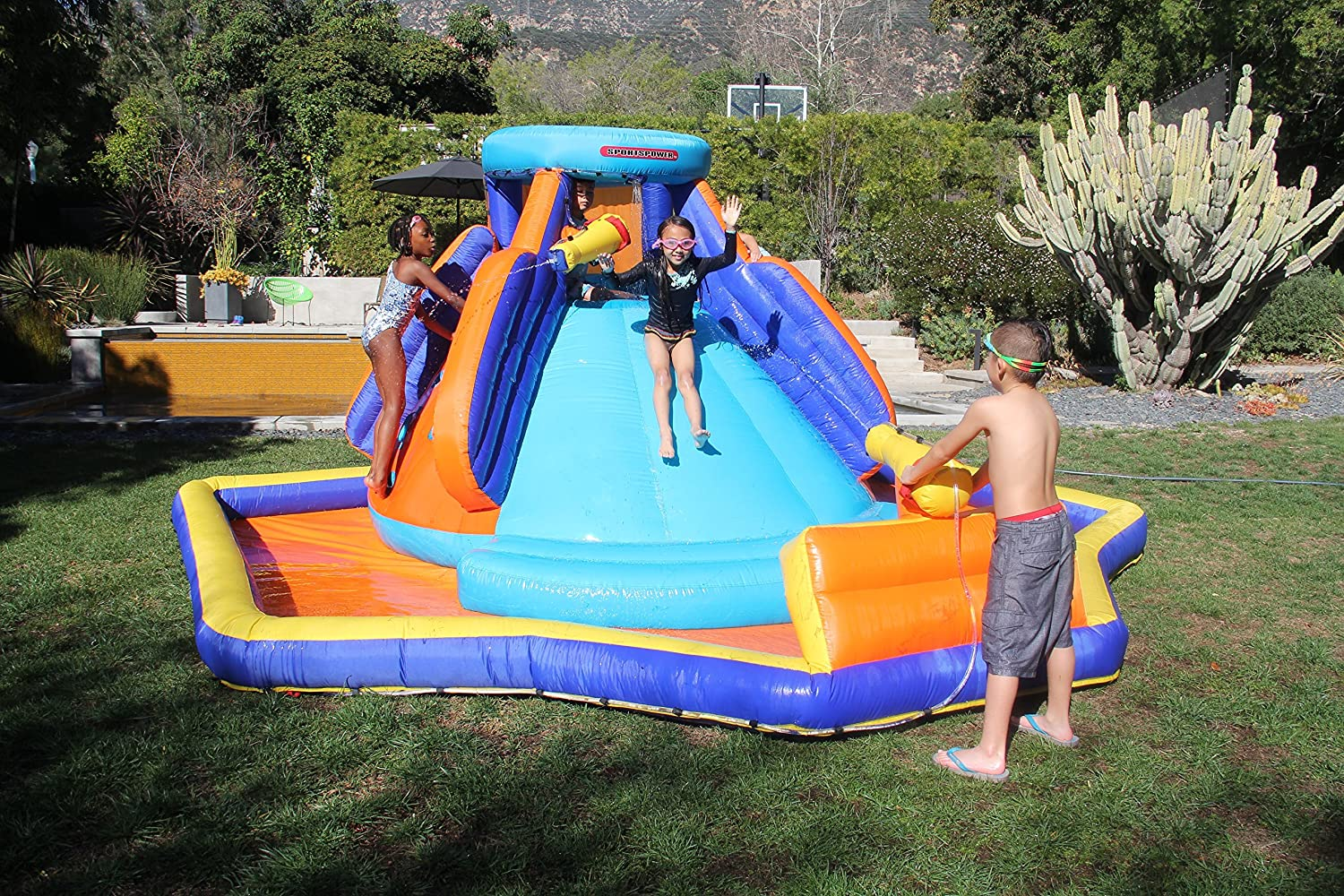 Top 7 Best Water Slide Pools Inflatable Reviews in 2020 5