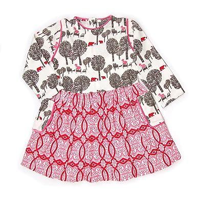 4eca4dd312d Amazon.com: Kate Quinn Organics Long Sleeve Piped Bubble Dress: Clothing