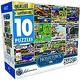 Surelox 10 in 1 Hometown Series 5 Jigsaw Puzzle