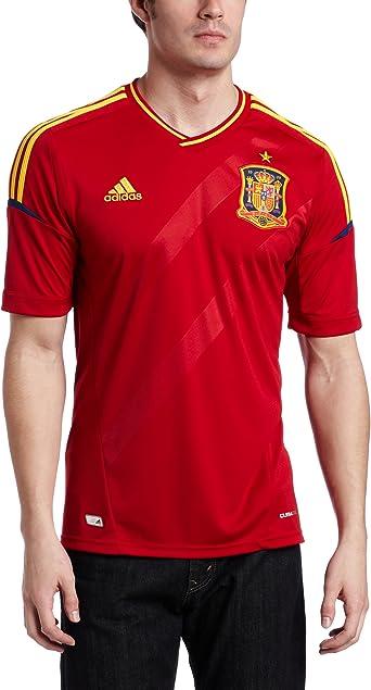 adidas España Casa fútbol Jersey - X10937, España: Amazon.es: Ropa y accesorios