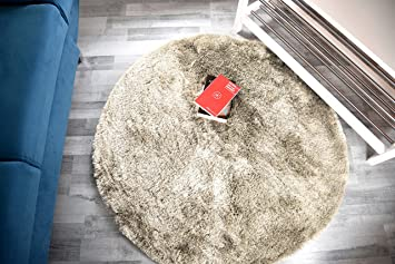 teppich rund 200 cm roller