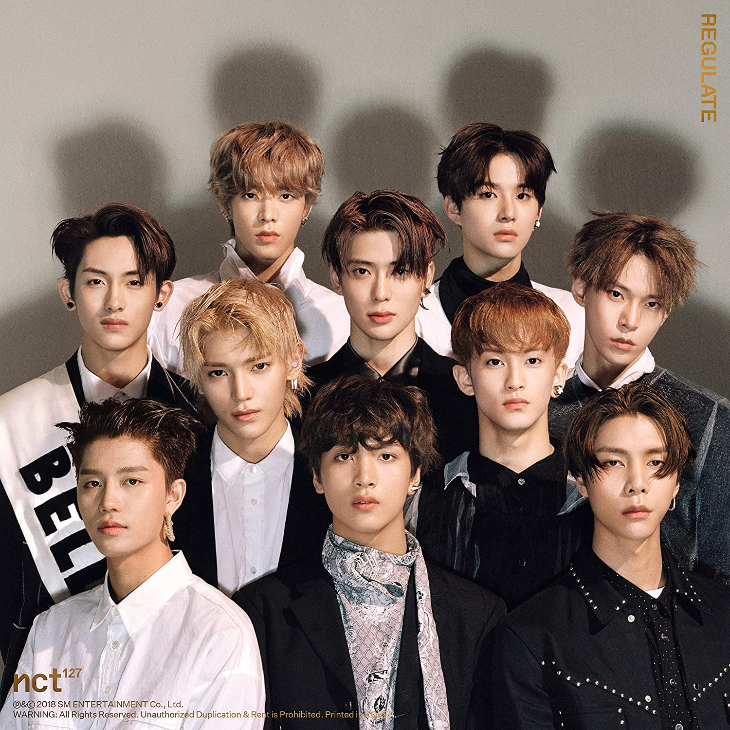Regulate (Repackage) (Photocard/Cover): NCT 127: Amazon.ca: Music