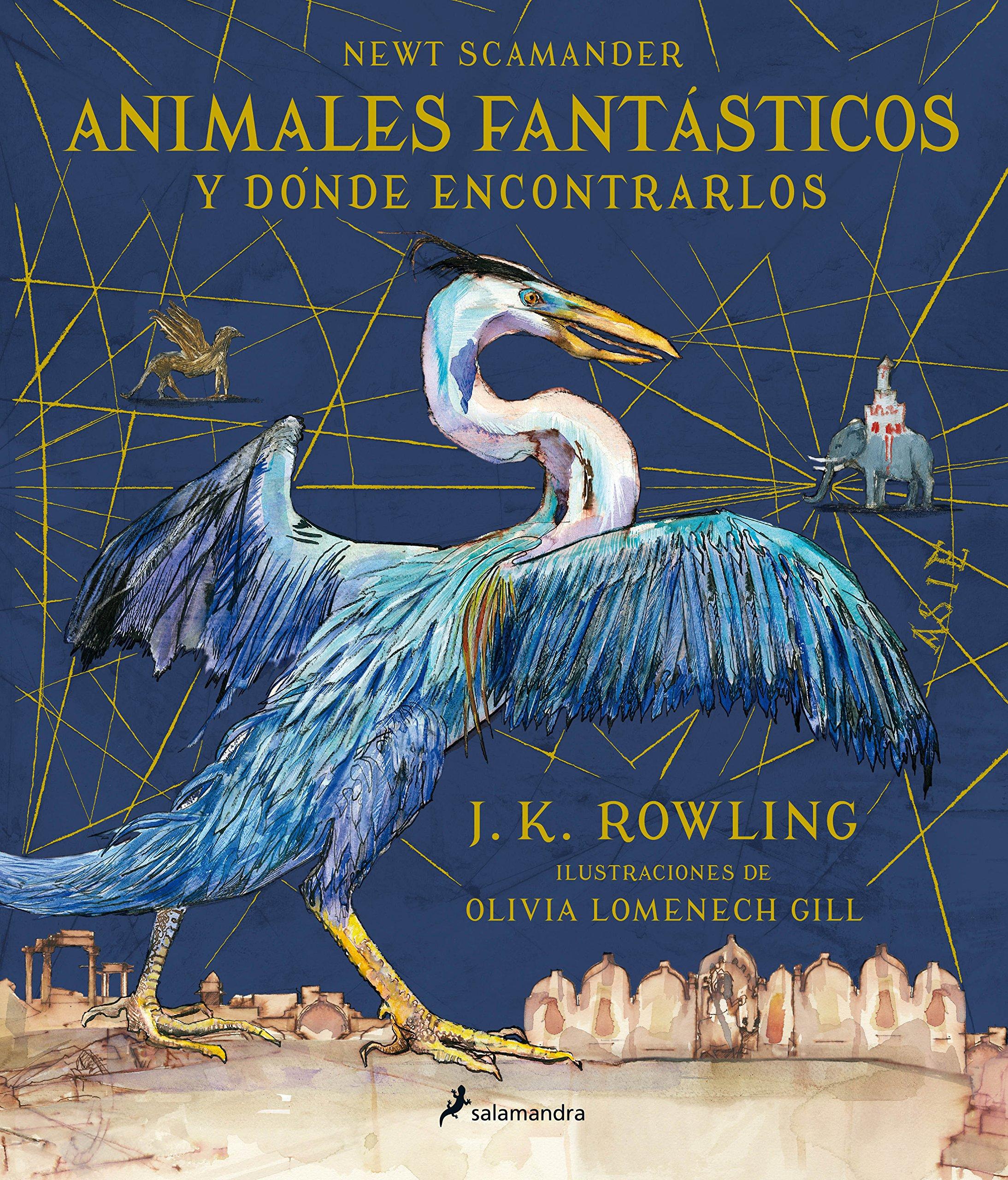 Animales fantásticos y dónde encontrarlos (Ilustrado) (Spanish Edition): J.  K. Rowling: 9788498388237: Amazon.com: Books