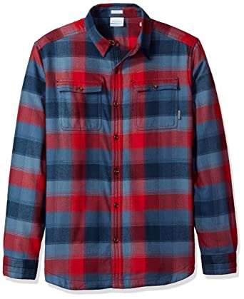 c5c6f58e3c2 Columbia Men's Flare Gun Waffle Lined Flannel Ii Shirt at Amazon Men's  Clothing store: