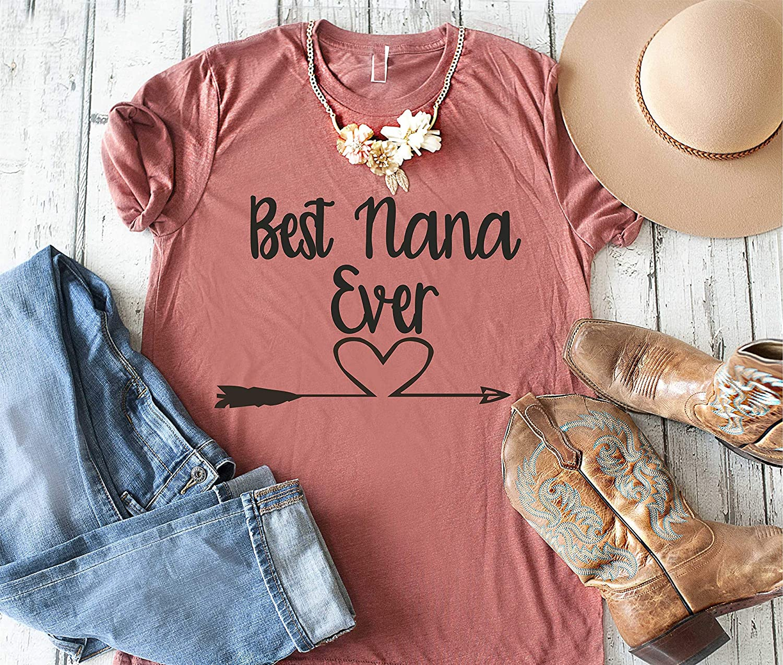 Toddler Short Sleeve Tee White Grandparent Shirts Nana Told Me I Could