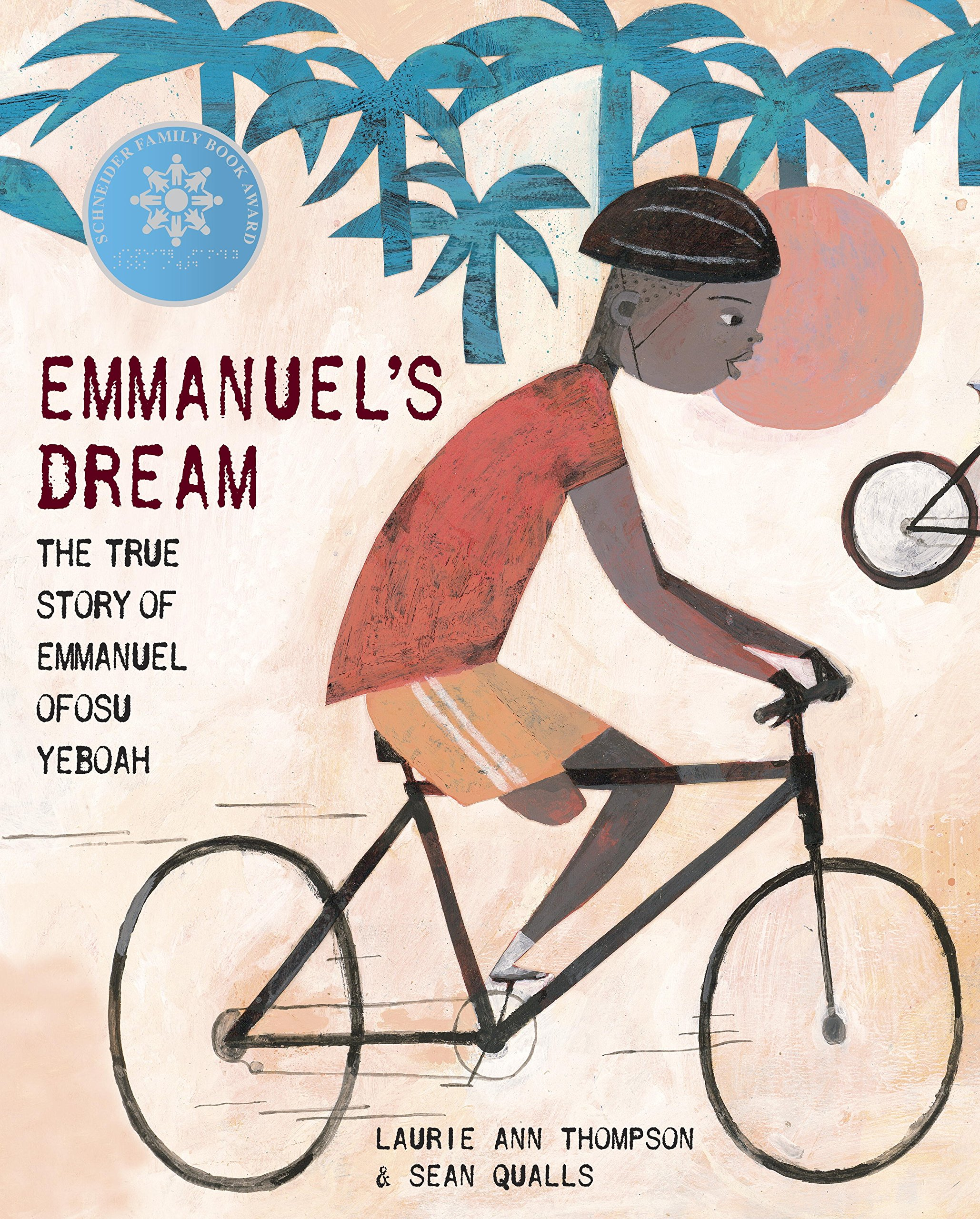 Emmanuel's Dream: The True Story of Emmanuel Ofosu Yeboah: Thompson, Laurie  Ann, Qualls, Sean: 0884547302700: Amazon.com: Books