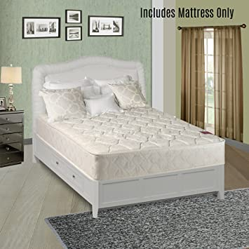 twin size mattress. Continental Sleep Elegant Collection Fully Assembled Firm Orthopedic Twin Size Mattress S