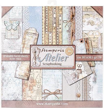 30 x 30 cm Stamperia. Scrapbooking paper pad 12x12 Dream