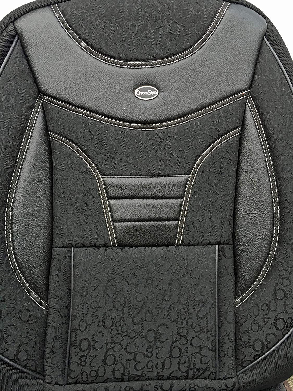 909 Ma/ß Sitzbez/üge Mitsubishi ASX Fahrer /& Beifahrer ab BJ 2010 Farbnummer