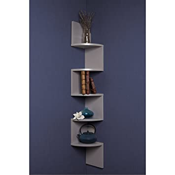 wall mounted shelving unit uk shelf units grey laminate large corner mount with drawer