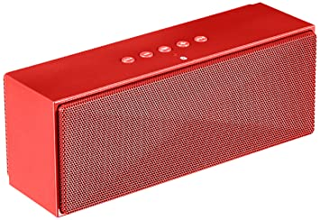 AmazonBasics Portable Bluetooth Speaker - Red: Amazon.in: Electronics