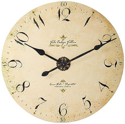 Amazon Com Howard Miller 620 369 Enrico Fulvi Wall Clock Home