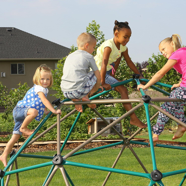 Amazon Lifetime Geometric Dome Climber Play Center Earthtone
