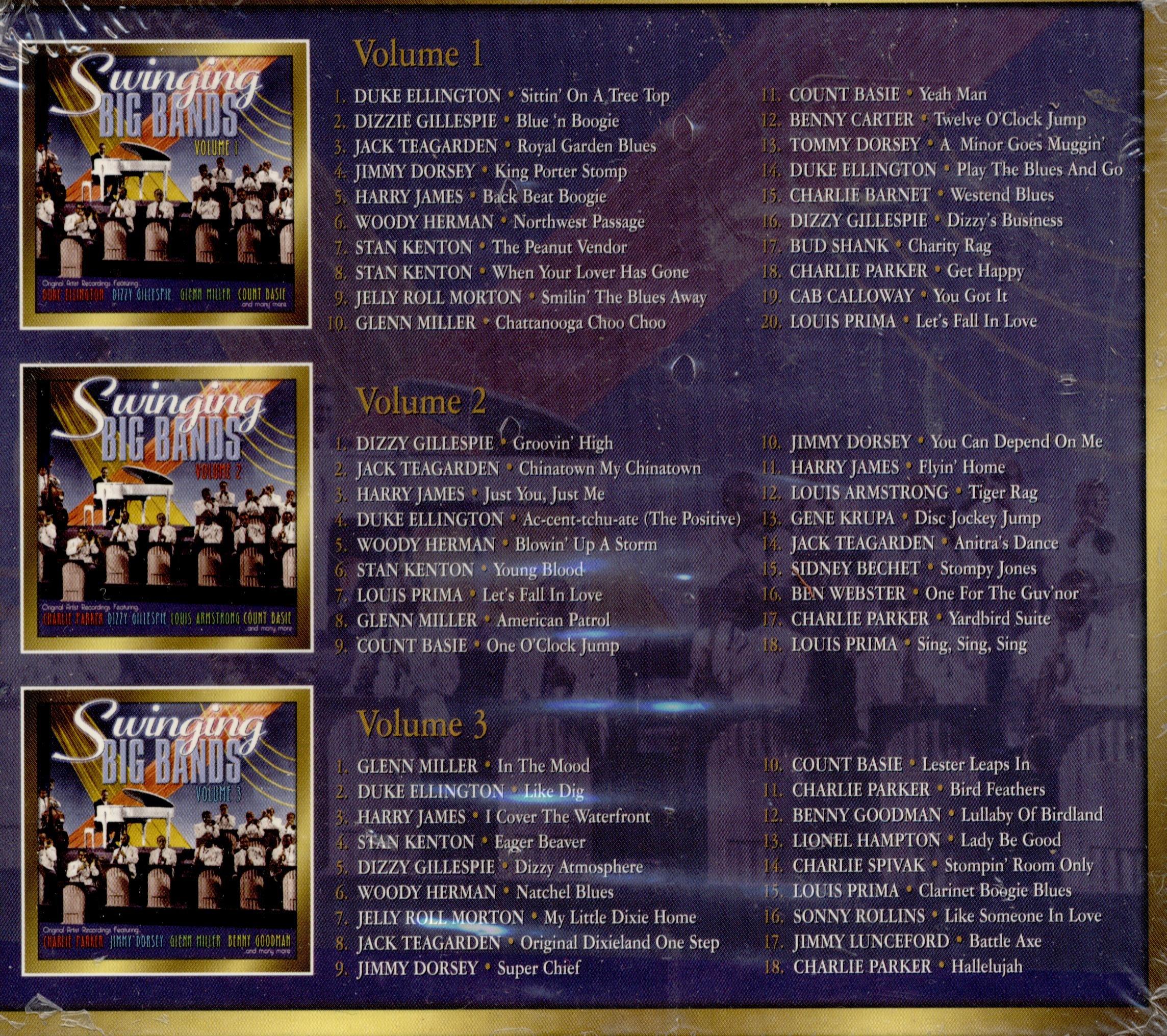 Swinging Big Bands Box by United Multi Vmi