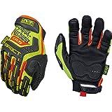 Mechanix Wear - Hi-Viz M-Pact CR5 Gloves (Large, Black/Fluorescent Yellow)