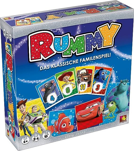 Asmodee 002802 – Juego de Mesa – Disney Rummy: Amazon.es: Juguetes y juegos