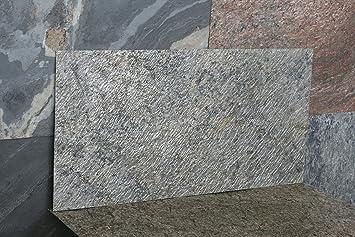 Feuille De Pierre Naturelle Stonere By Cera Quartz Pour Habillage Mural 600x300 Mm Damascus Green Paquet De 30 Feuilles Soit 5 4m