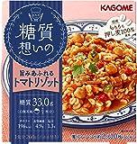 カゴメ 糖質想いの トマトリゾット (国産押し麦100%使用) 260g×6個
