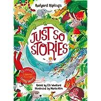 Rudyard Kipling's Just So Stories, retold by Elli Woollard: Book and CD Pack (Book & CD)