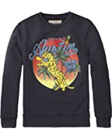 Scotch & Soda Shrunk Jungen Sweatshirt Bright Art