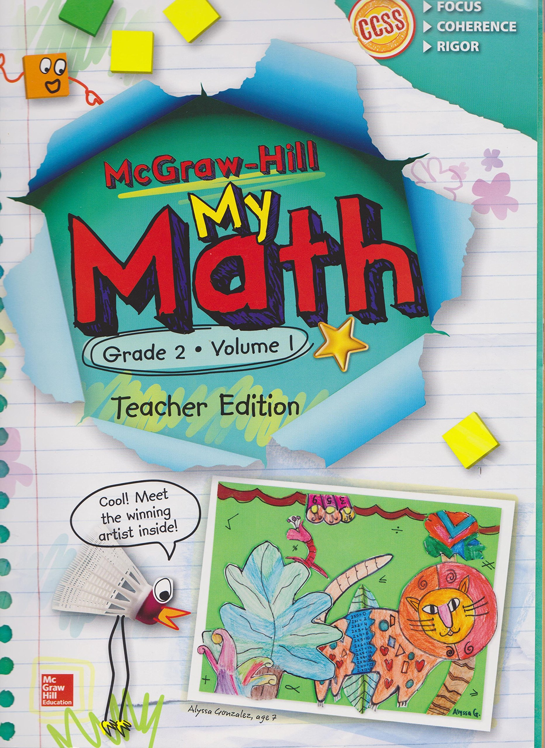 Amazon.com: My Math Grade 2 Volume 1 Teacher Edition (9780021383955 ...