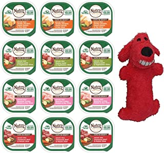 product image for Nutro Canned Small Breed Wet Dog Food Adult & Puppy, (3) Chicken Entree, (3) Roast Turkey/Vegetable, (3) Lamb/Vegetable, (3) Beef/Potato Stew, 3.5 Oz Each (12 Total)