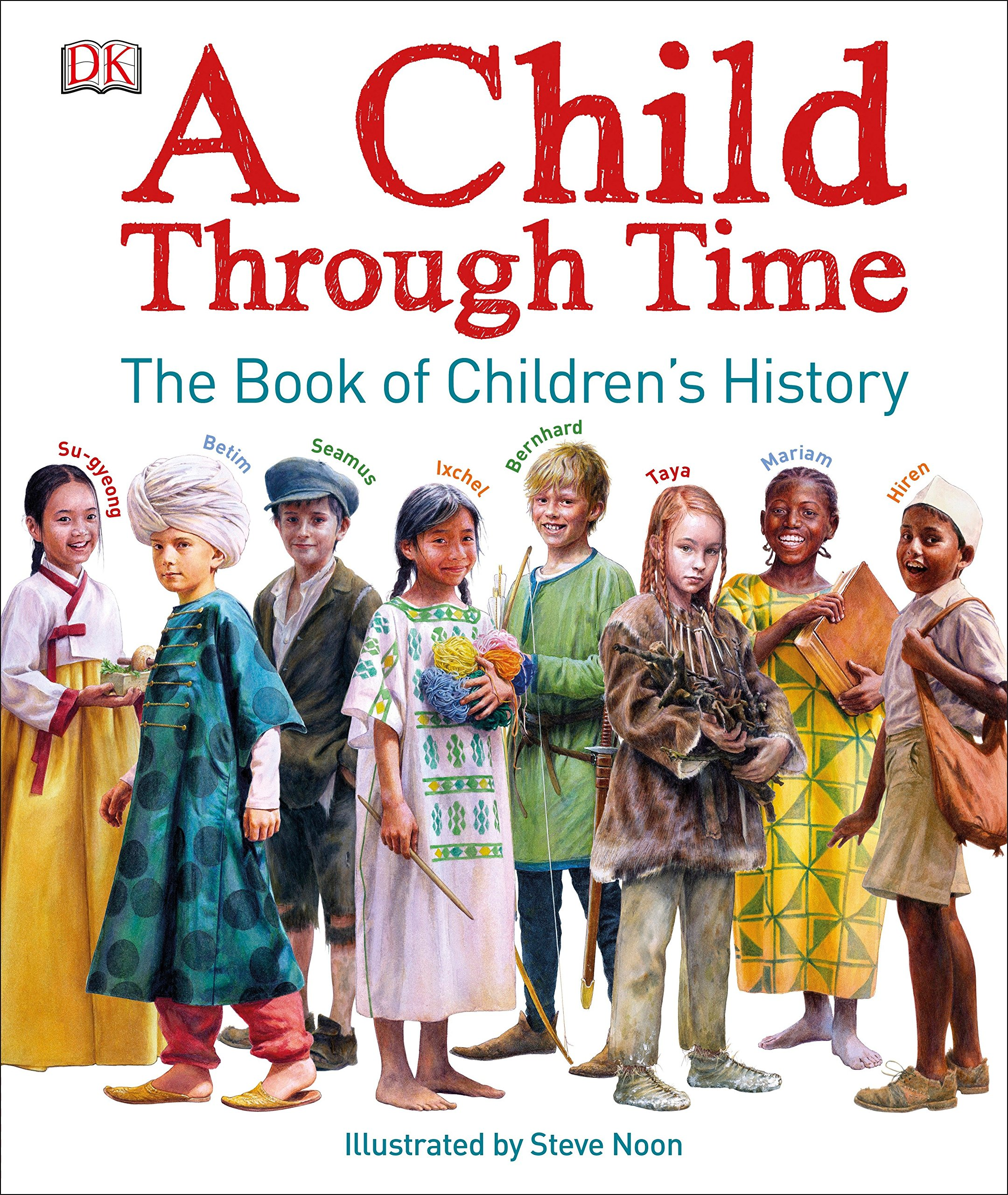 A Child Through Time: The Book of Children's History by DK Children (Image #7)