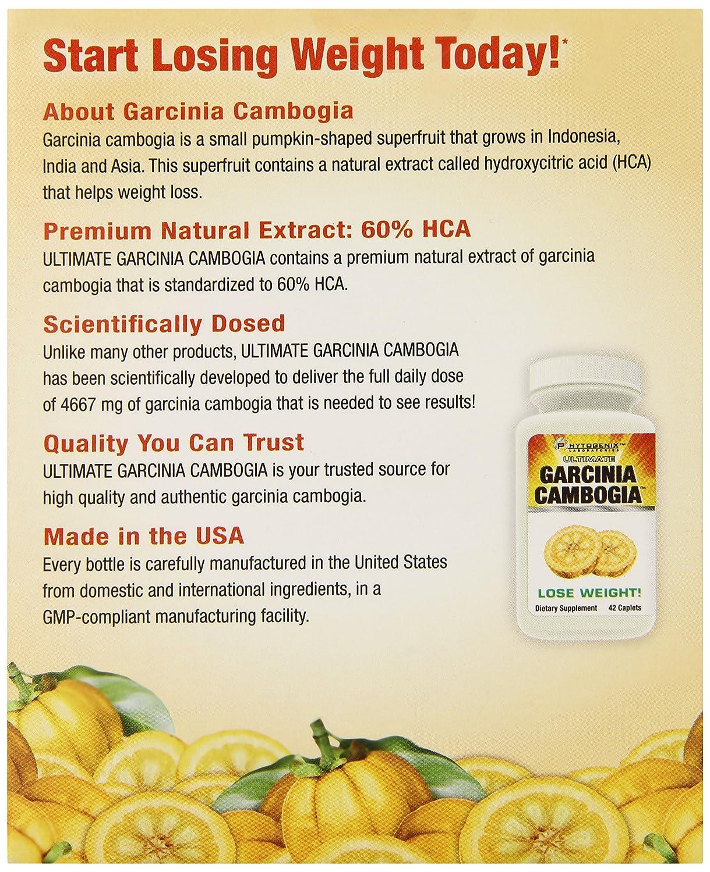 Garcinia cambogia 1500 mg healthy america 50 hca