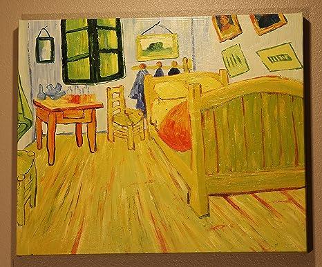 VINCENT Van Gogh camera da letto ad Arles di VINCENT, dipinto a mano ...