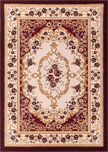 Well Woven Dulcet Versaille Red Traditional Area Rug 5 X 7 2