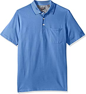 ae15f844 Van Heusen Men's Flex Short Sleeve Polo at Amazon Men's Clothing store: