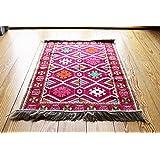 110cm x 70cm Tapis Oriental, kelim, Kilim, carpet, couverture au sol, Rug nouveau de damaskunst s 1–2-1