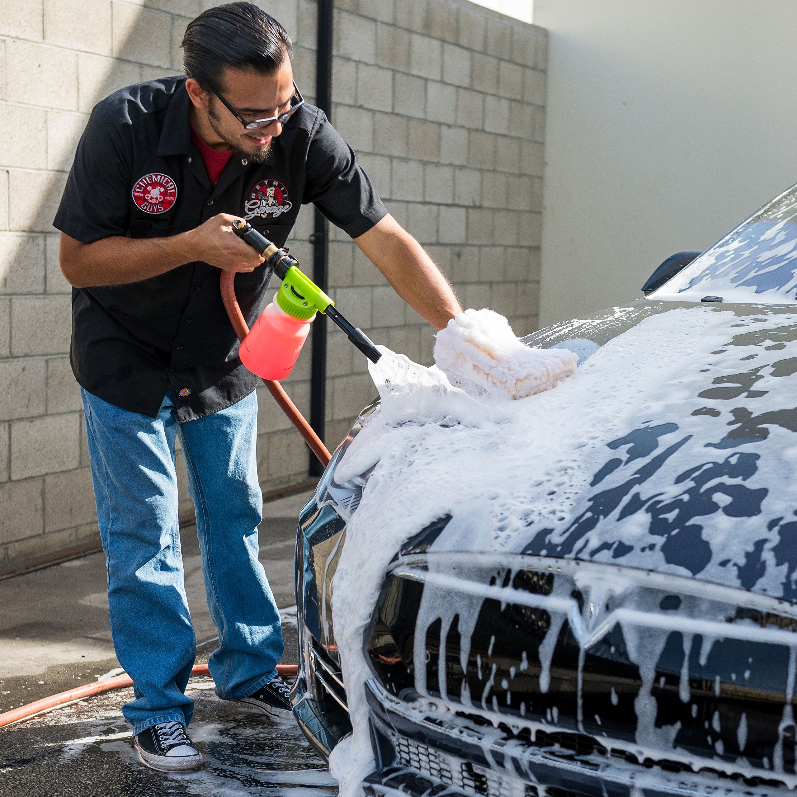Chemical Guys Acc_326 - TORQ Foam Blaster 6 Foam Wash Gun - The Ultimate Car Wash Foamer That Connects to Any Garden Hose by Chemical Guys (Image #7)