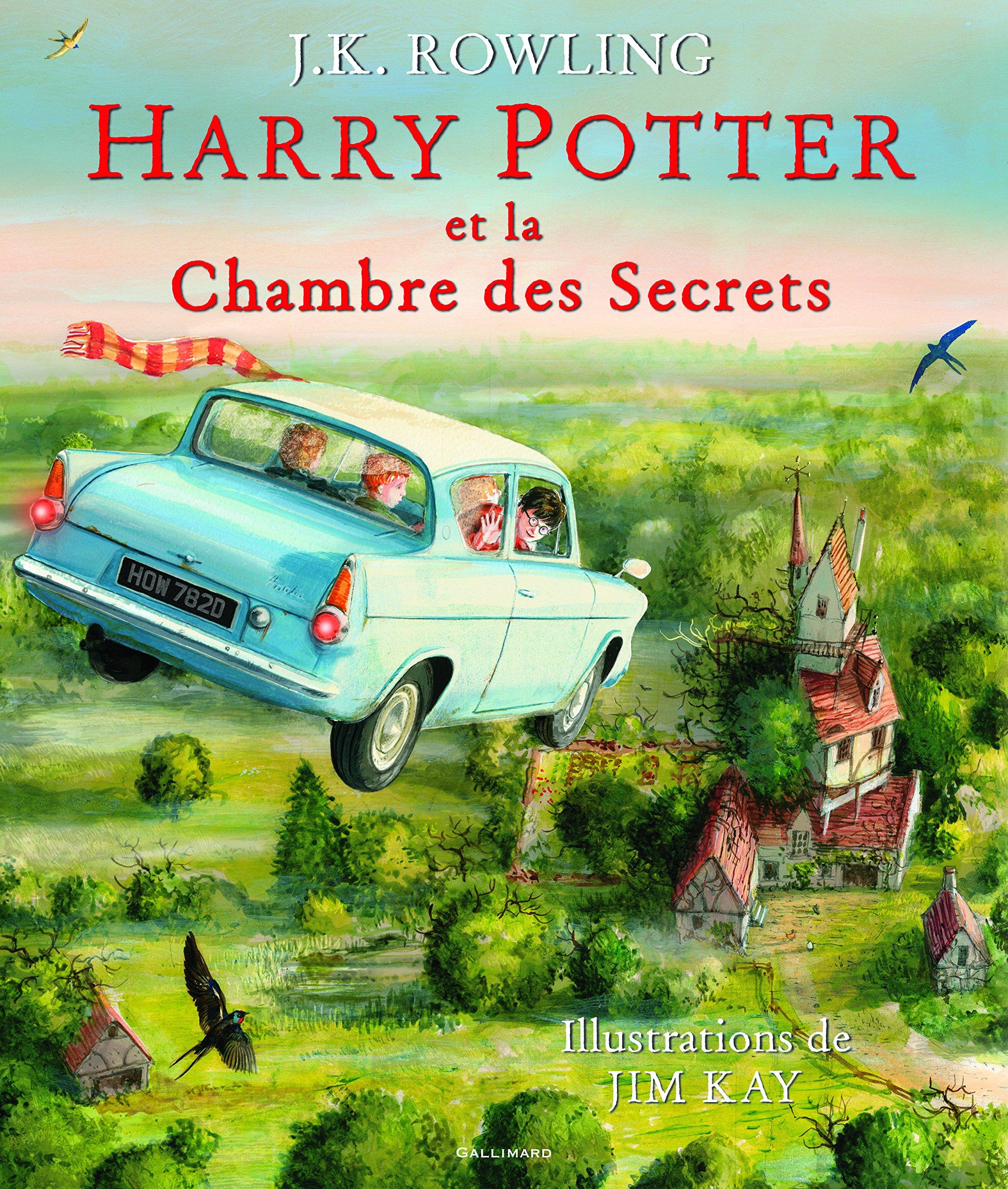 Harry Potter, II:Harry Potter et la Chambre des Secrets Relié – 3 octobre 2016 J. K. Rowling Jim Kay Jean-François Ménard Gallimard Jeunesse