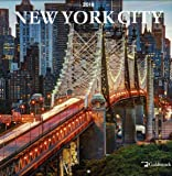 "Goldistock ""New York City"" Eco-friendly 2018 Large Wall Calendar - 12"" x 24"" (Open) - Thick & Sturdy Paper - Perfect for anyone who loves the city that never sleeps"