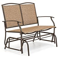 Deals on Best Choice 2-Person Patio Loveseat Glider Bench