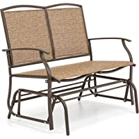 Best Choice 2-Person Patio Loveseat Glider Bench