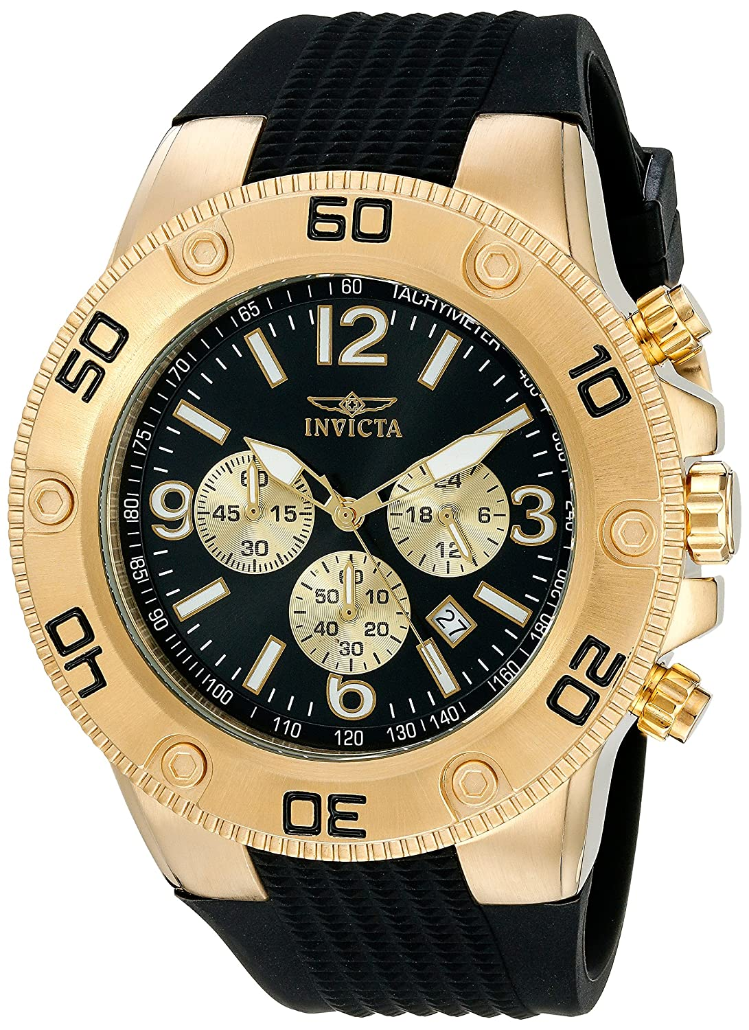 Amazon.com: Invicta Men's 20275 Pro Diver Gold-Tone Stainless Steel Watch:  Watches