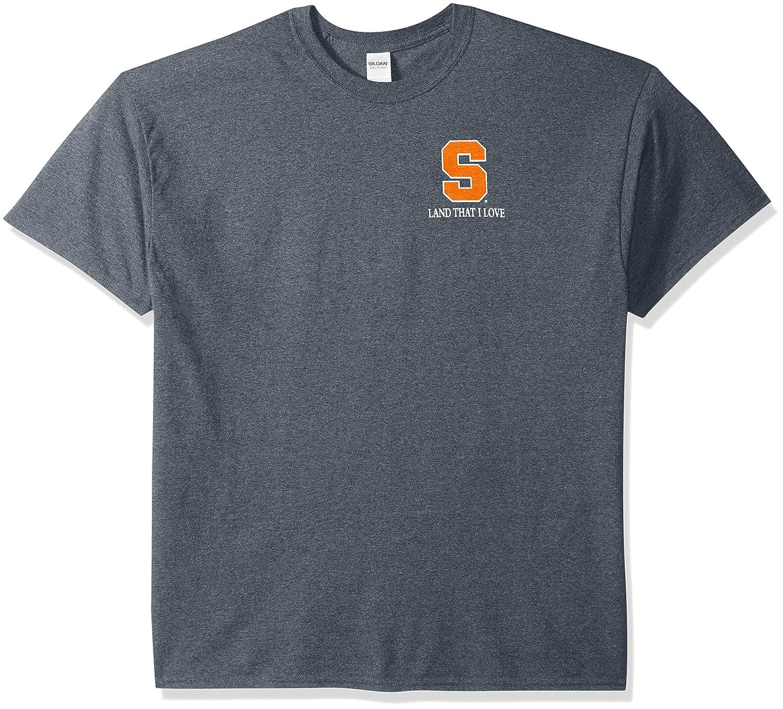感謝の声続々! NCAA Syracuse Syracuse OrangeフラグGlory半袖シャツ Small NCAA ダークヘザー ダークヘザー B01N9QI7BR, ウエルシア:bcb8568f --- a0267596.xsph.ru