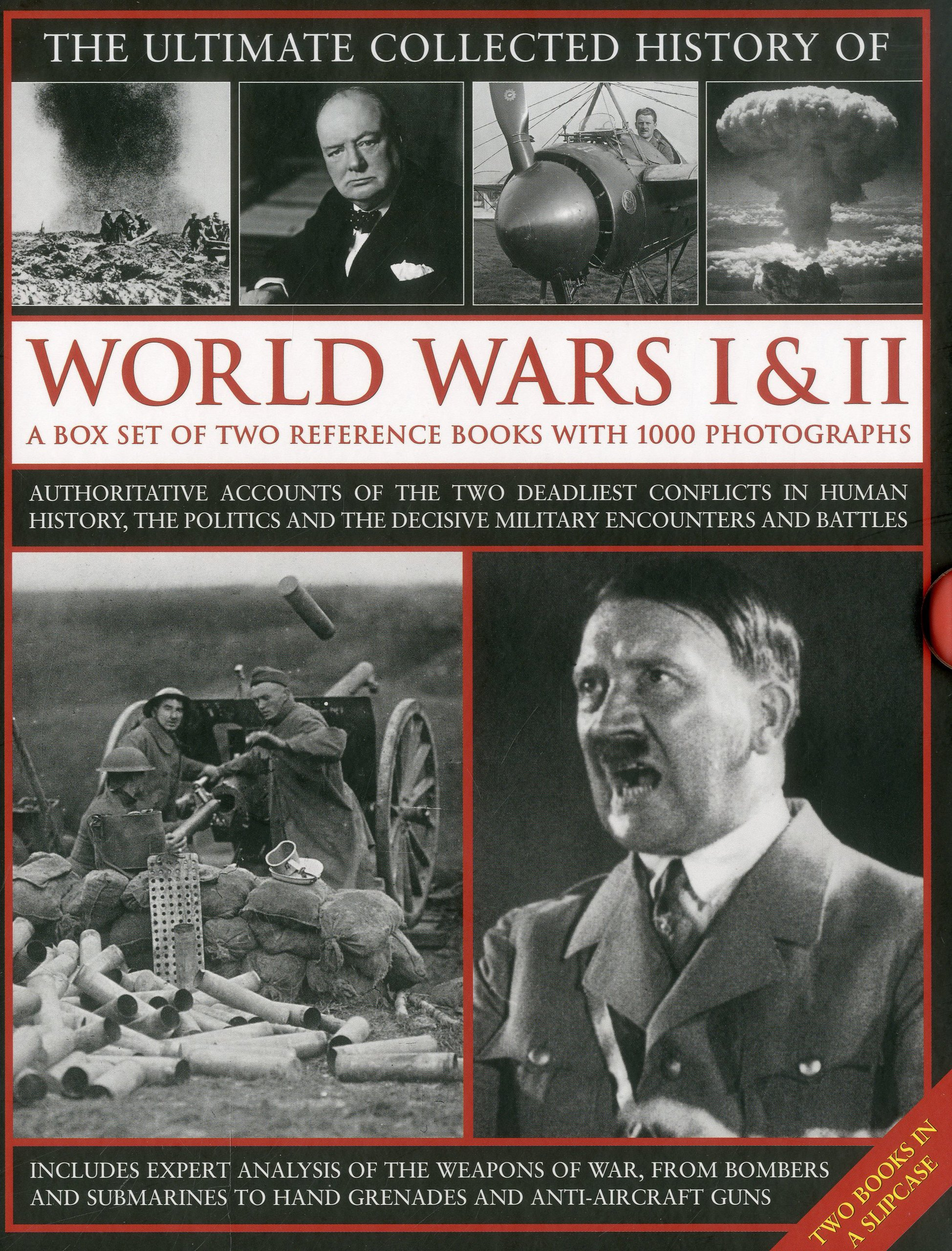 The Ultimate Collected History of World Wars I & II: A box set of two reference books with 1000 photographs pdf