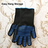 ETHDA Extreme Heat Resistant 932°F Gloves, Cut